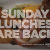 Sunday Lunches are back